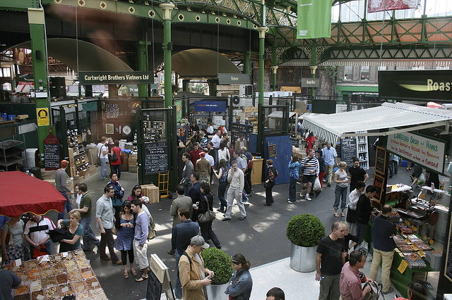 Borough Market: where it all began for planZheroes. Photo: Chris Lumb